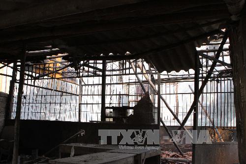 Hình ảnh thiệt hại vụ nổ kho thuốc pháo ở Phú Thọ 1