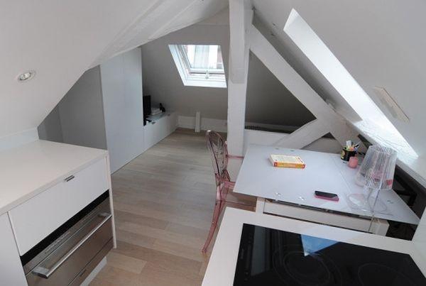 Ngắm căn hộ áp mái 16m² với cách bài trí siêu thông minh 7