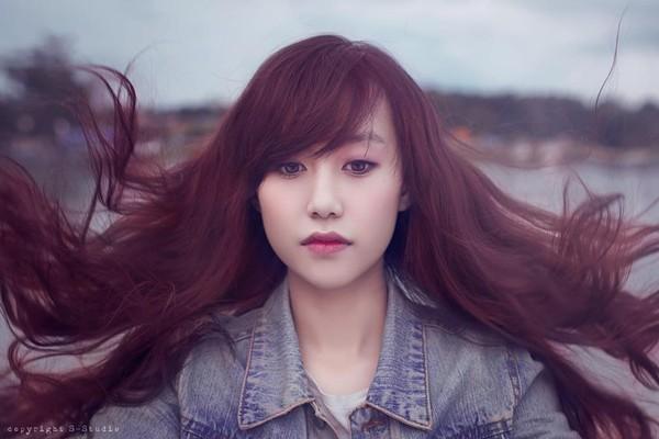 Những hot girl Việt có gương mặt đẹp không tì vết 6
