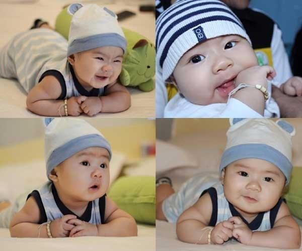 Con trai Lý Hải càng lớn càng điển trai 4