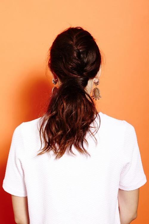2 style đẹp cho tóc ngang vai 5