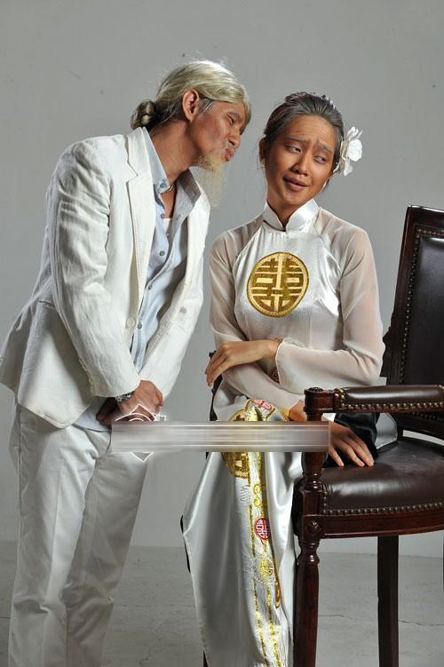 Ảnh cưới độc đáo của các cặp vợ chồng sao Việt 9
