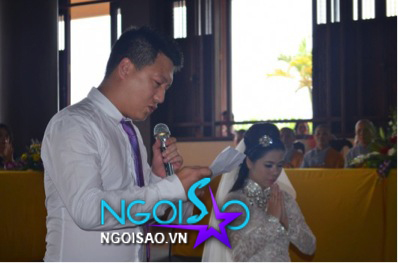 Lễ cưới theo nghi thức Phật giáo của ca sỹ Mỹ Dung 8