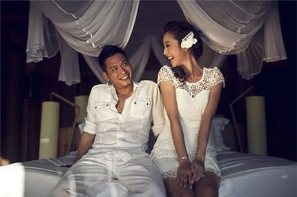 Bức ảnh cưới chưa từng công bố của Jennifer Phạm 2