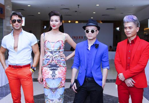 Thanh Hằng diện váy 3D đi chấm casting 6