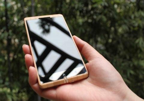 Smartphone bằng tre giá 14 triệu đồng 1