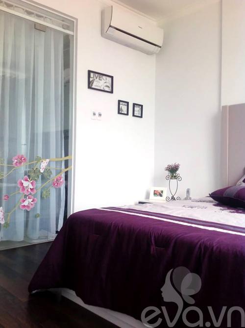 Ngắm căn hộ 80m² màu tím kiêu sa 15