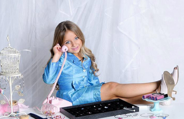 Cuộc sống xa xỉ của triệu phú sắc đẹp 6 tuổi 1