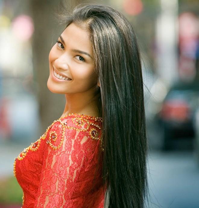 Đọ nhan sắc Trương Thị May và các Hoa hậu Hoàn vũ châu Á 1