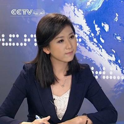 Ngắm nữ phóng viên xinh đẹp nhất Trung Quốc 1