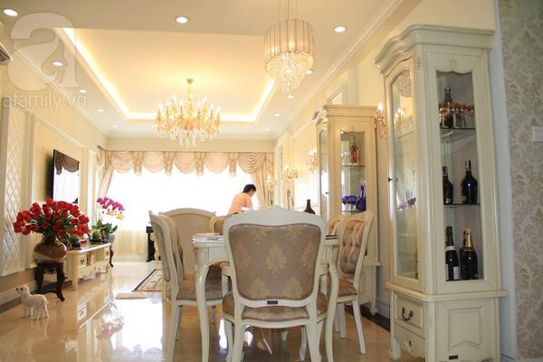 Mê mẩn căn hộ mang phong cách hoàng gia ở Sài Gòn 7