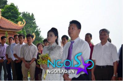 Lễ cưới theo nghi thức Phật giáo của ca sỹ Mỹ Dung 4