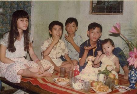 Vợ chồng Hà Tăng vui vẻ đến dự sinh nhật của Trà My Idol 6