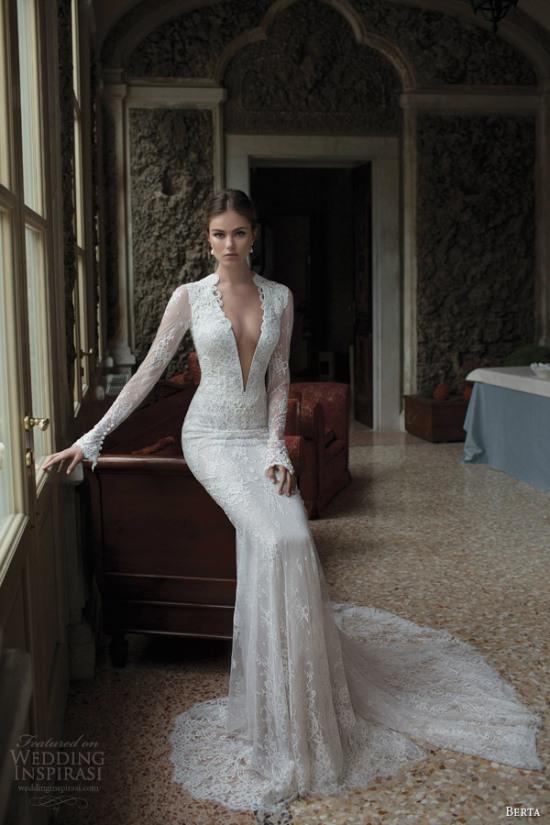 Những mẫu váy cưới dài tay đẹp đến khó tin 17