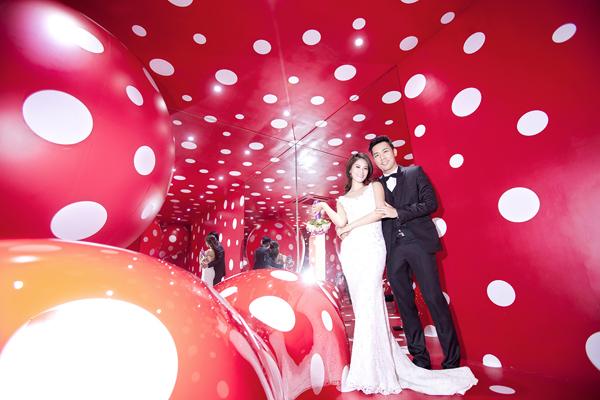 Chiêm ngưỡng ảnh cưới đẹp long lanh của Hoa hậu Biển Vân Anh 12