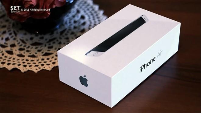 Mở hộp iPhone Air siêu mỏng màn hình rộng tuyệt đẹp 2