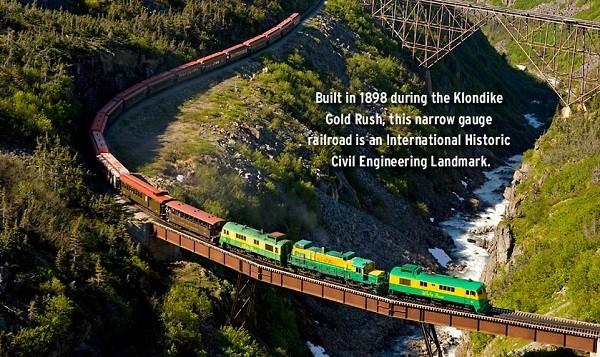 """Các tuyến đường sắt đẹp """"hiểm trở đến thót tim"""" trên thế giới 16"""
