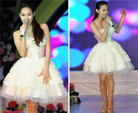 Ngắm phong cách thời trang ngọt ngào của Minh Hằng 8