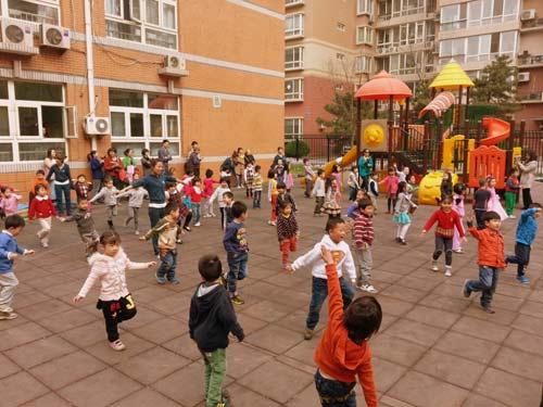 Một ngày tại mẫu giáo ở Bắc Kinh 3