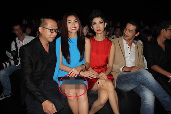 Những tư thế ngồi vô duyên, khó đỡ của mỹ nhân Việt 4
