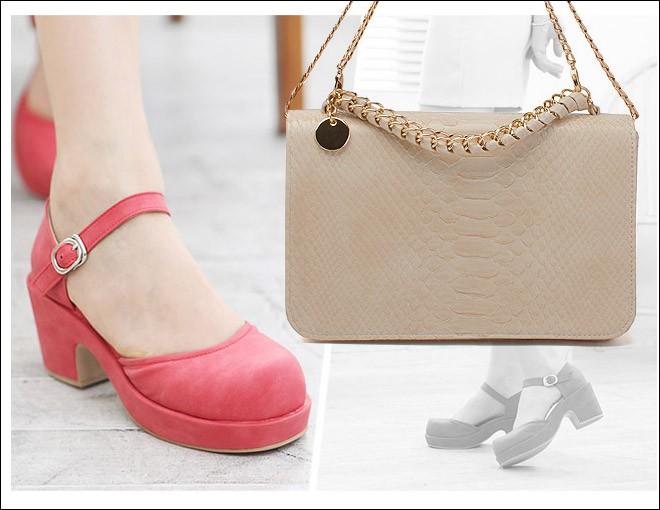 Cách phối đồ hoàn hảo giữa giày và túi 9