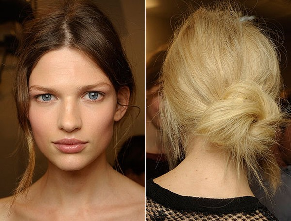 7 kiểu tóc búi, cột quyến rũ cho mùa Hè 2013 3