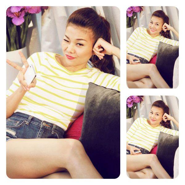 """5 """"nữ hoàng áo phông"""" của showbiz Việt 9"""
