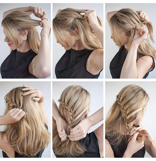 Những kiểu tóc búi đơn giản nhưng đẹp đến lạ kì 6