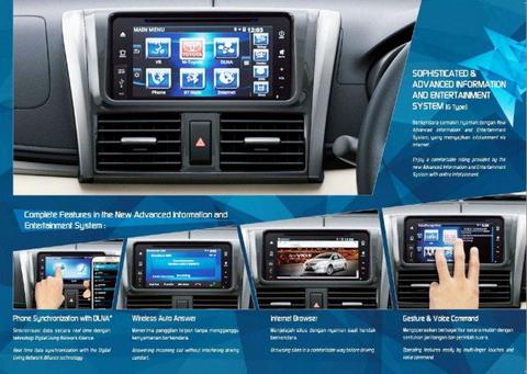 Toyota Vios 2013 có màn hình cảm ứng 2