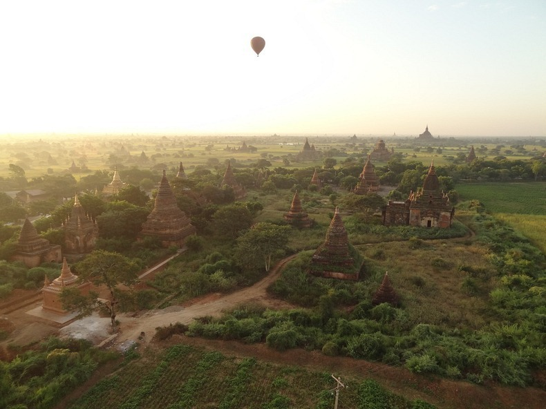 Bagan, xứ sở của hàng ngàn ngôi đền bị lãng quên 4