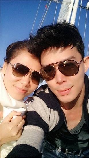 Thu Minh tình tứ chồng tỷ phú trên du thuyền hạng sang 5