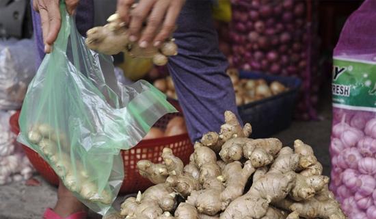 Hoang mang vì gừng Trung Quốc 'ngập' chợ Việt Nam 1