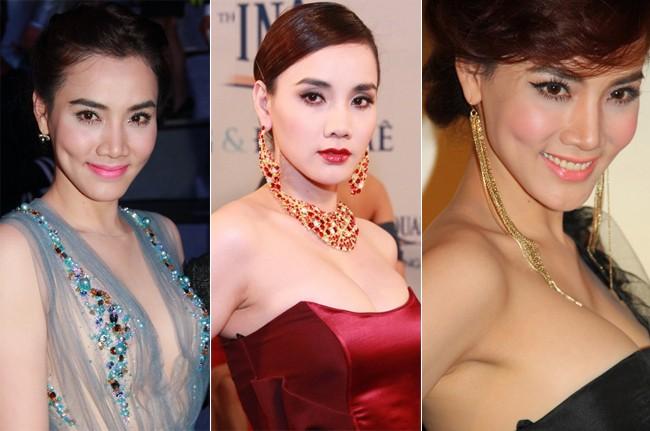Trang điểm quá đà, mỹ nhân Việt hóa nhân vật tuồng chèo 11