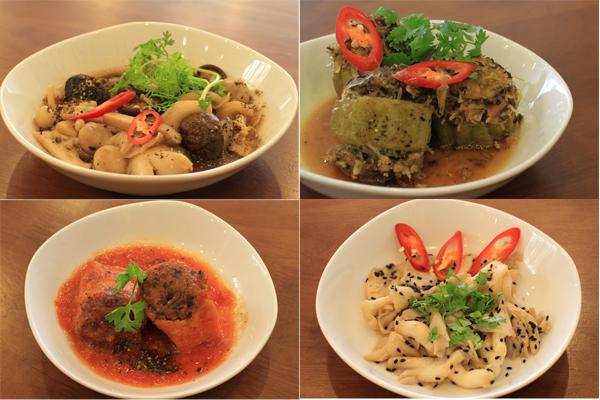 No miệng bữa trưa với những món ăn rau củ 4