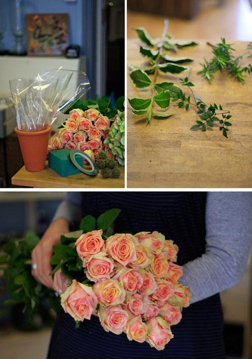 Tự cắm hoa hồng đẹp và sang trọng 1