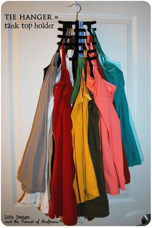 Mẹo xếp đồ trong tủ quần áo quá nhỏ 12