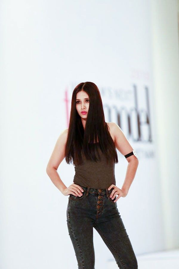 Vợ Phan Thanh Bình: 'Tôi xứng đáng tiến xa ở Next Top Model' 1