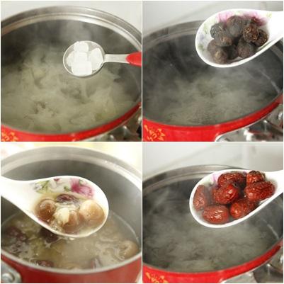 Cách nấu chè nhãn mát, bổ 8