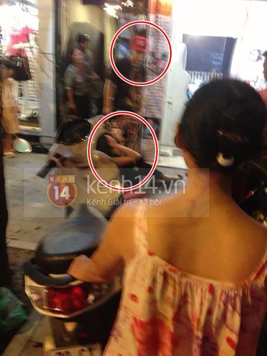 Mẫu tây Andrea bị Yanbi đánh trên phố Hàng Trống? 2