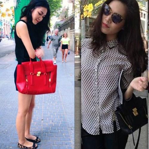 """3 mẫu túi làm """"chao đảo"""" mỹ nhân Việt 13"""