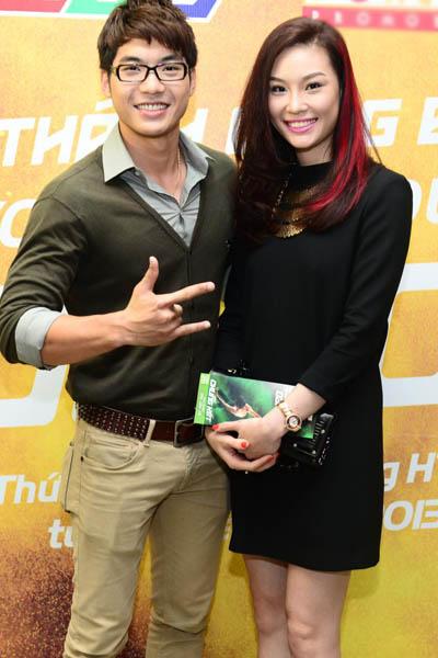 Đoan Trang hạnh phúc khi mang bầu hơn 3 tháng 11