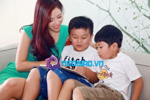 Tổ ấm hạnh phúc của vợ chồng Á hậu Thu Hương 2