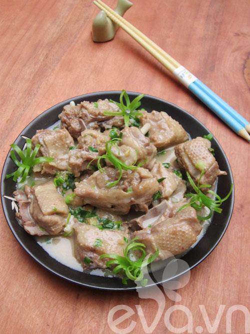 Cơm chiều với vịt om nước cốt dừa 7