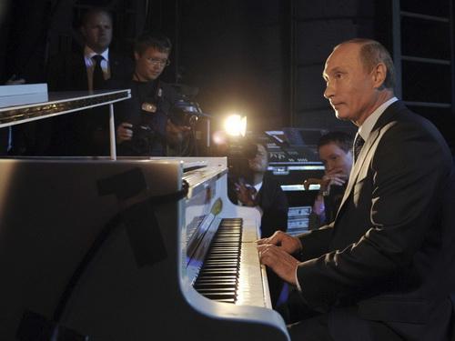 Tổng thống Putin được bầu là người độc thân hấp dẫn nhất 1