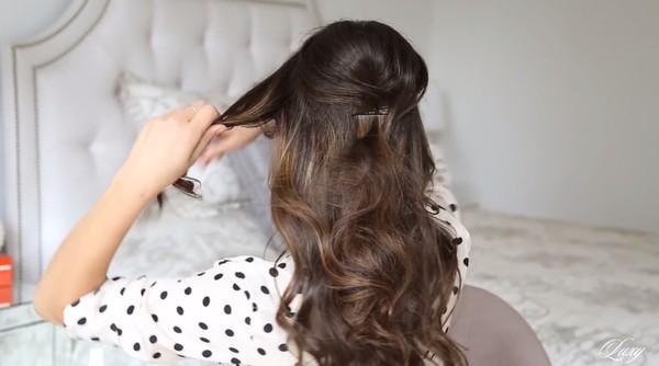 3 kiểu tóc nhanh gọn, điệu đà cho ngày trễ giờ làm 5