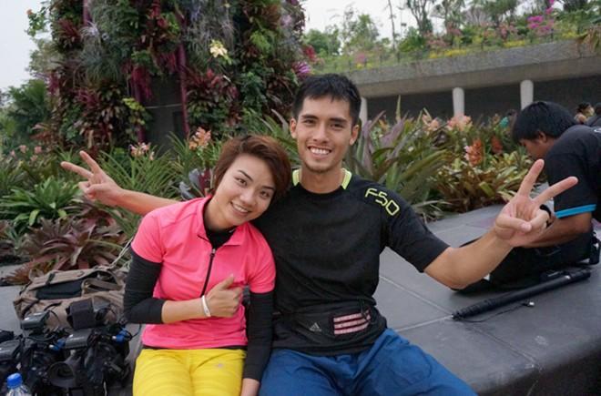 Dàn trai xinh, gái đẹp 'Cuộc đua kỳ thú' đại náo Singapore 5