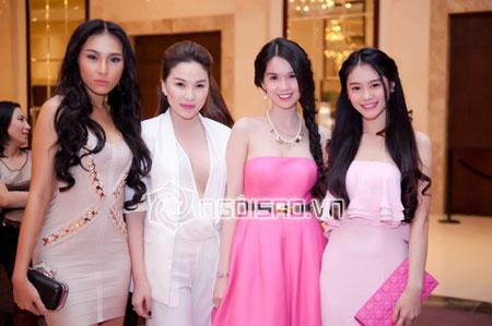 Ngọc Trinh hàng hiệu dát đầy mình vẫn lép vế trước hoa hậu hoàn vũ Thái Lan 23