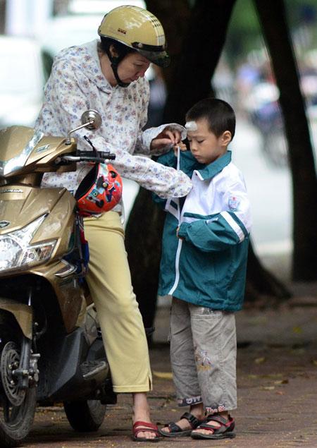 Người Hà Nội ngày đầu mặc áo rét 7