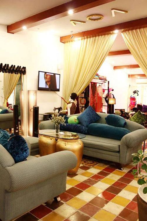 Căn nhà rực rỡ của nhà thiết kế Võ Việt Chung 1