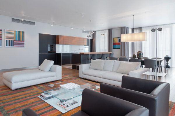 15 phong cách nội thất cho phòng khách rộng 4